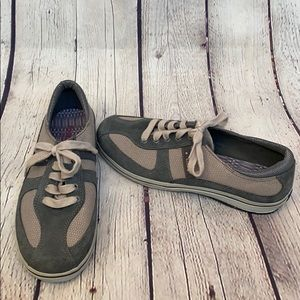 Keds low cut grey two tone sneakers tennis shoes
